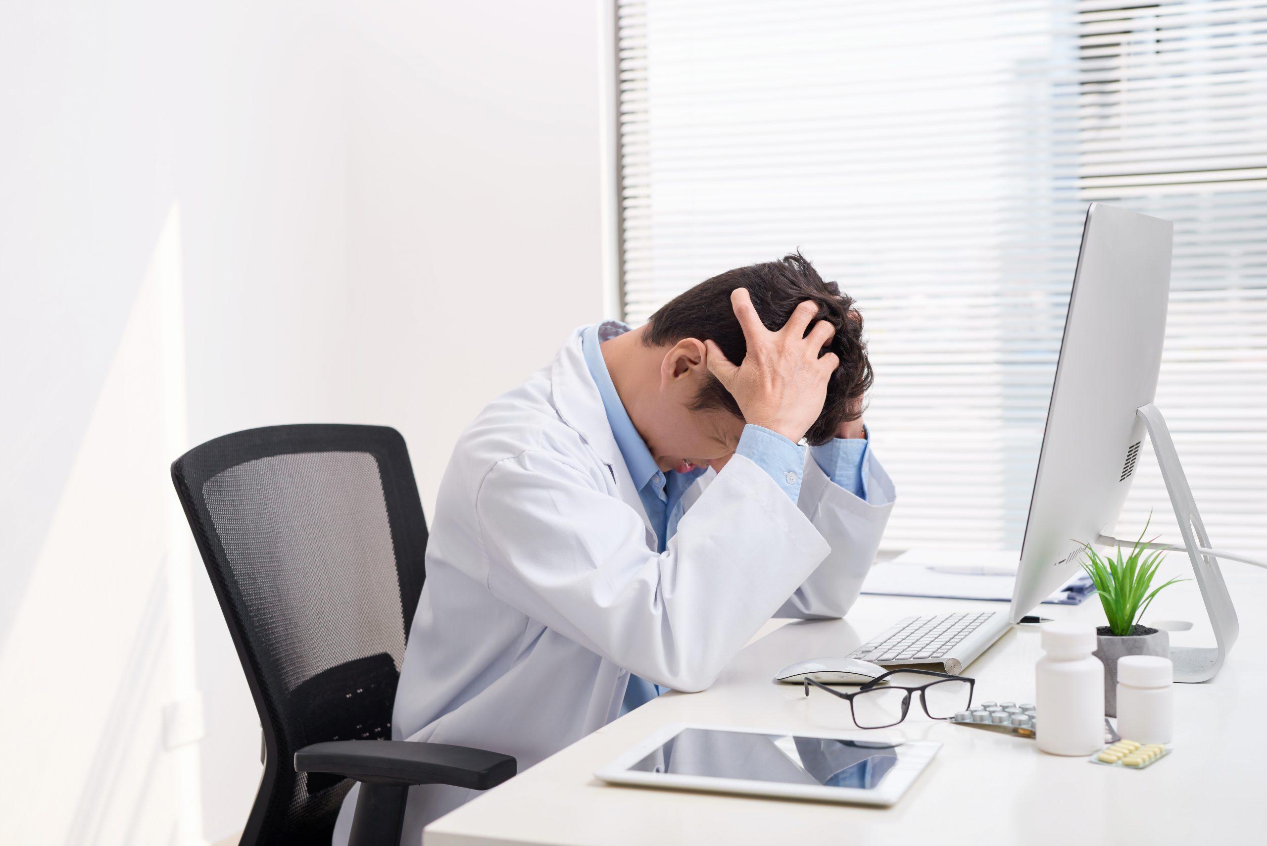 医師の過酷な状況